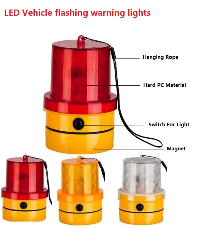 [해외]경고등을 깜박이는 LED 차량/LED Vehicle flashing warning lights