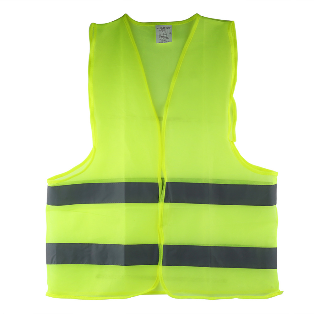[해외]반사 조끼 높은 가시성 안전 경고 코트 반사 오토바이 재킷 줄무늬/Reflective Vest High Visibility Safety Warning Waistcoat Reflective Stripes Jacket for Motorcycle