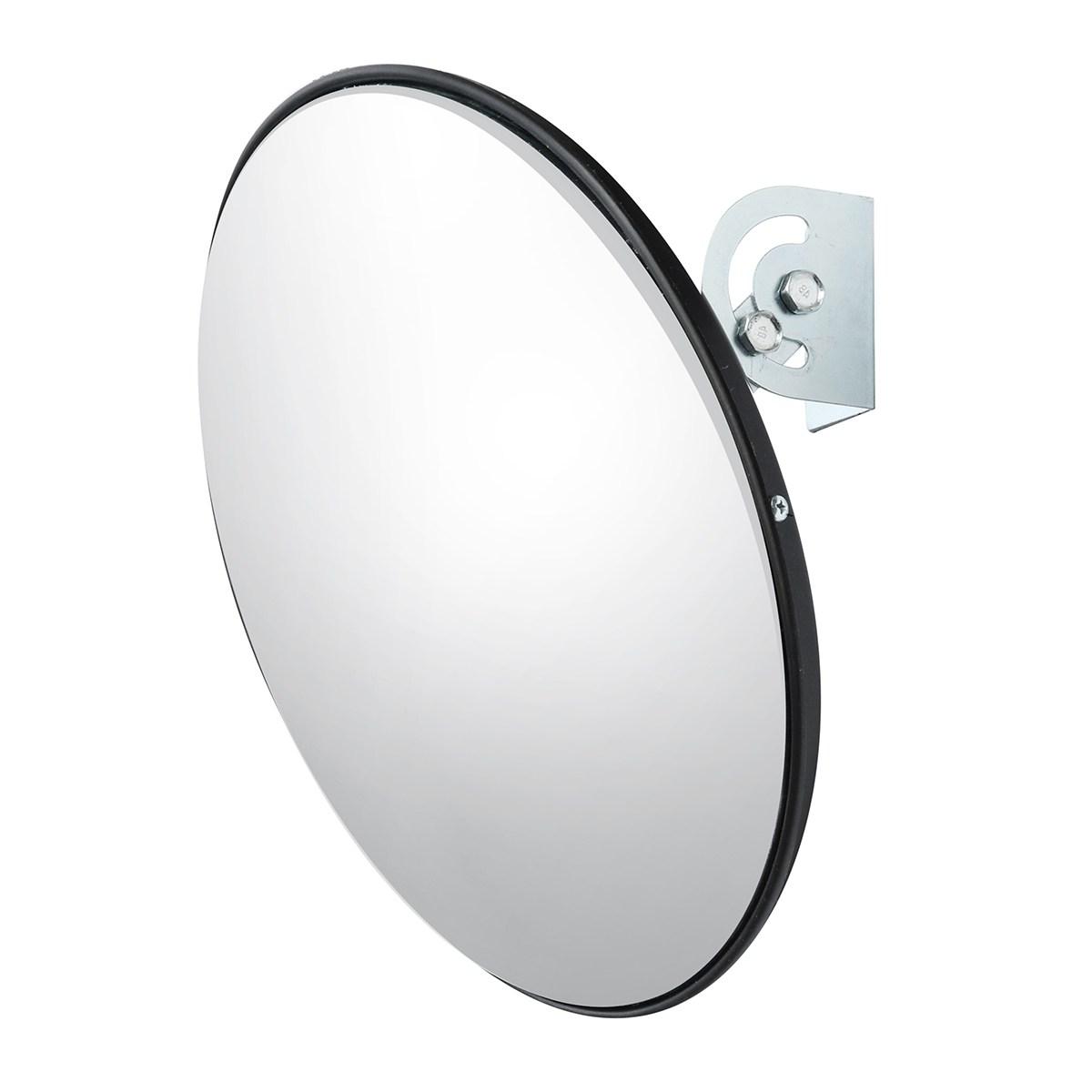 [해외]NEW Safurance 45cm 와이드 앵글 곡선 형 볼록한 보안로드 미러, 도난 방지용 도로 신호 안전 시스템/NEW Safurance 45 cm Wide Angle Curved Convex Security Road Mirror For Indoor Burgl