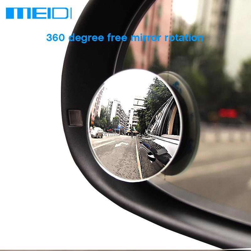 [해외]새로운 2pcs 자동차 후면보기 미러 360도 자동차 거울 넓은 각도 라운드 볼록한 자동차 스팟 미러 주차 지원에 대 한 실행/New 2pcs Car Rear View Mirror 360 Degree Car Mirror Wide Angle Round Convex
