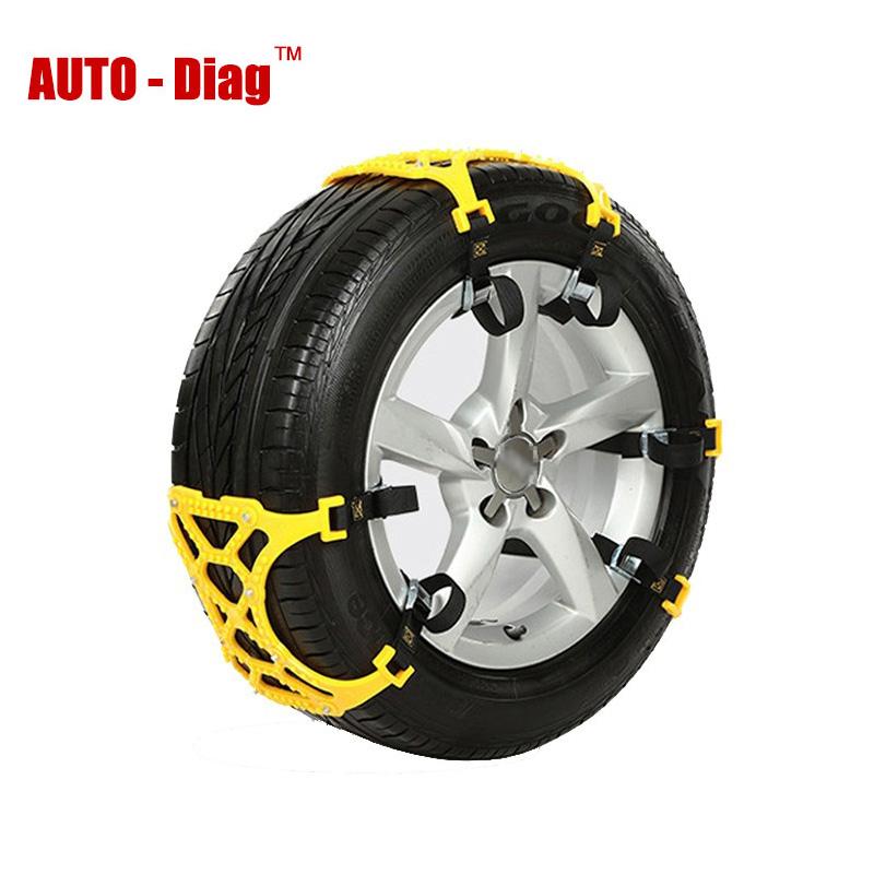 [해외]브랜드의 새로운 스노우 체인 자동차 타이어 스키드 체인 6PCS 165mm265mm 유니버설 조절 자동 자동차 SUV 안티 휠 슬립 체인/Brand New Snow Chains Car Tire Skid Chain 6pcs 165mm265mm Universal A