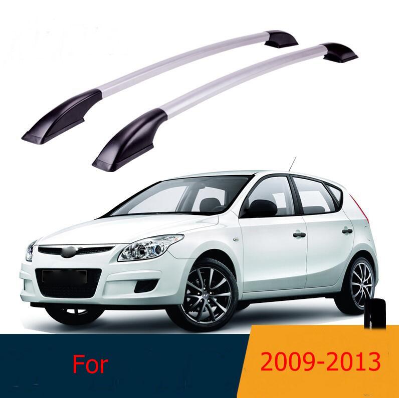 [해외]루프 랙 박스 사이드 레일 바 수하물 운반선 A 세트 현대 I30 2009 2010 2011 2012 2013/Roof Rack Boxes Side Rails Bars Luggage  Carrier A Set For  Hyundai I30 2009 2010 20