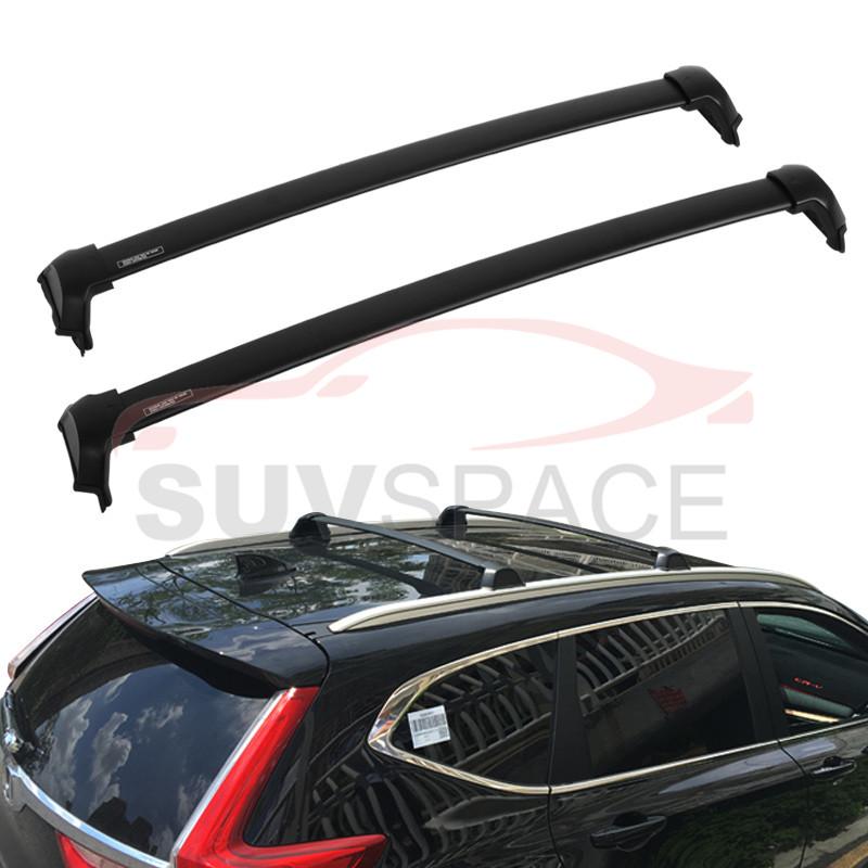 [해외]2017 년 혼다 CRV 크로스 바 OE 스타일 바 블랙 마운트 볼트 알루미늄에 맞는 고품질 옥상 랙/High quality Roof Rack Fit For 2017 Honda CRV Cross Bar OE Style Bars Black Mount Bolt Al