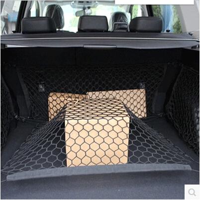 [해외]자동차 스타일링 BYD 용 리어 카고 트렁크 스토리지 네트 백 모든 모델 S6 S7 S8 F3 F6 F0 M6 G3 G5 G7 E6 L3/Car Styling Rear Cargo Trunk Storage Net Bag For BYD all Model S6 S7