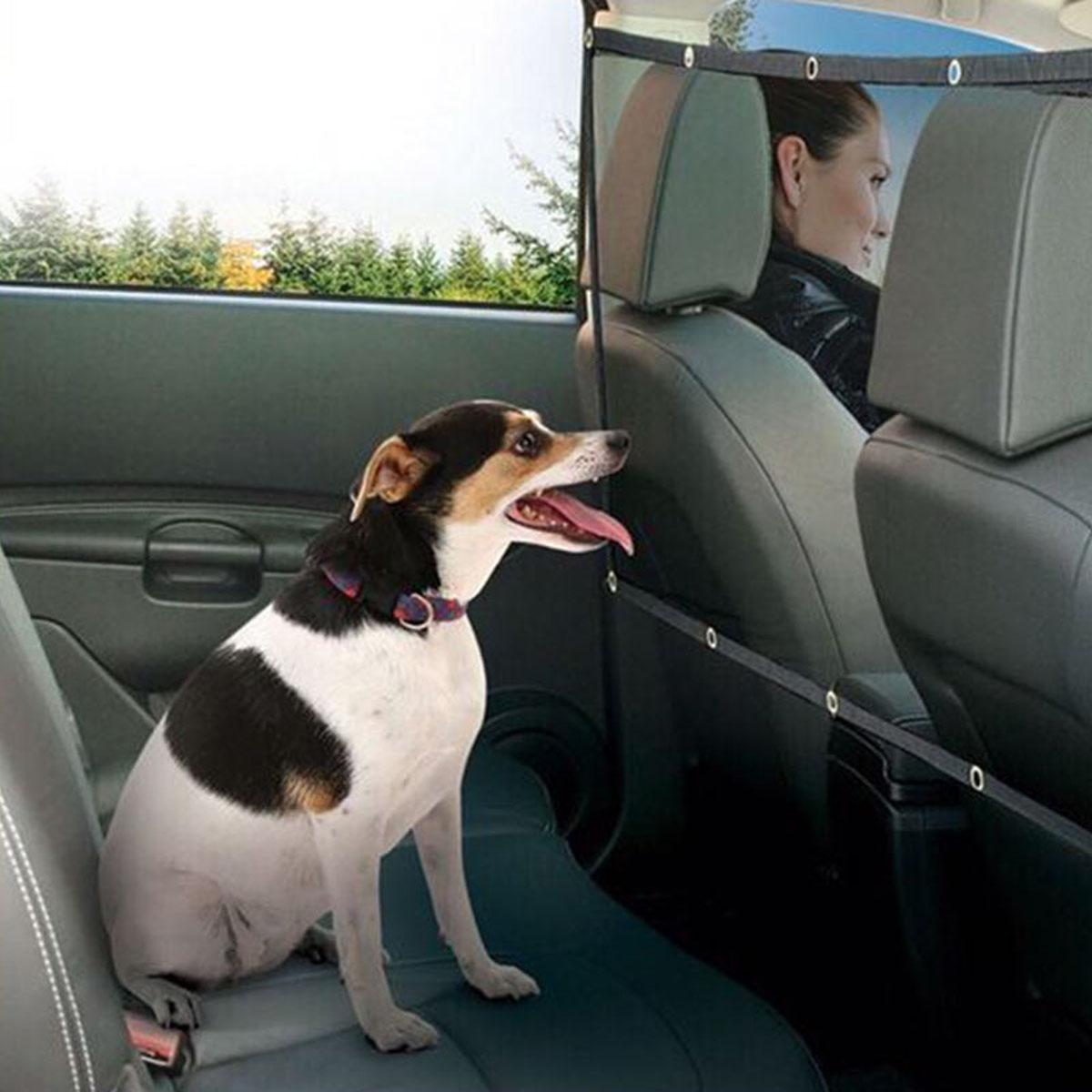 [해외]튼튼한 유니버설 애완 동물 강아지 그물 자동차 안전 개 배리어 메쉬 프로텍터 XR657/Durable Universal Pet Dog Net Car Safety Dog Barrier Mesh Protector      XR657