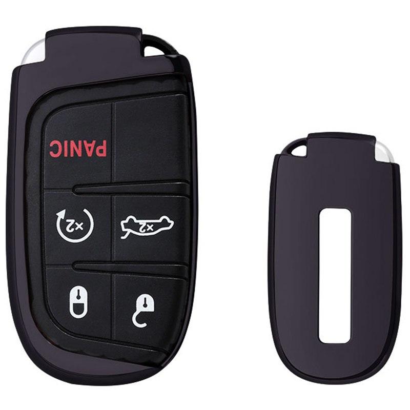 [해외]Mayitr 1PCS 원격 TPU 키 FOB 케이스 셸 커버 지프 크라이슬러 닷지에 대 한 자동차 자동차 키 케이스 액세서리/Mayitr 1Pcs Remote TPU Key Fob Case Shell Cover  Auto Car Key Case Accessori