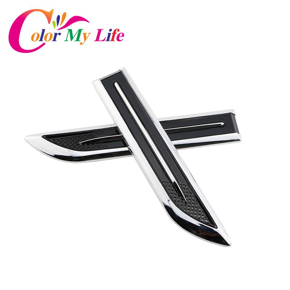 [해외]Skoda Octavia A7 좌석 레온이 비사에 대 한 폭스 바겐 폭스 바겐 골프 7 Mk7에 대 한 2pcs 자동차 배지 데 칼 블레이드 모양 스티커 펜더 사이드 스티커/2Pcs Car Badge Decal Blade Shape Sticker Fender S