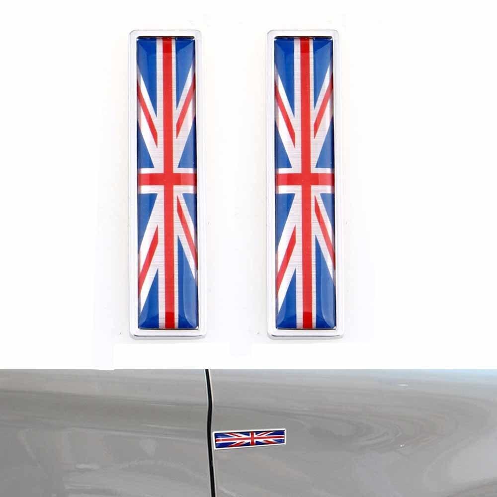 [해외]1Pair 국가 국기 영국 영국의 Hot 금속 스티커 자동차 스타일링 오토바이 액세서리 배지 라벨 엠 블 럼 자동차 스티커/1Pair Country Flag England British Hot Metal Stickers Car Styling Motorcycle