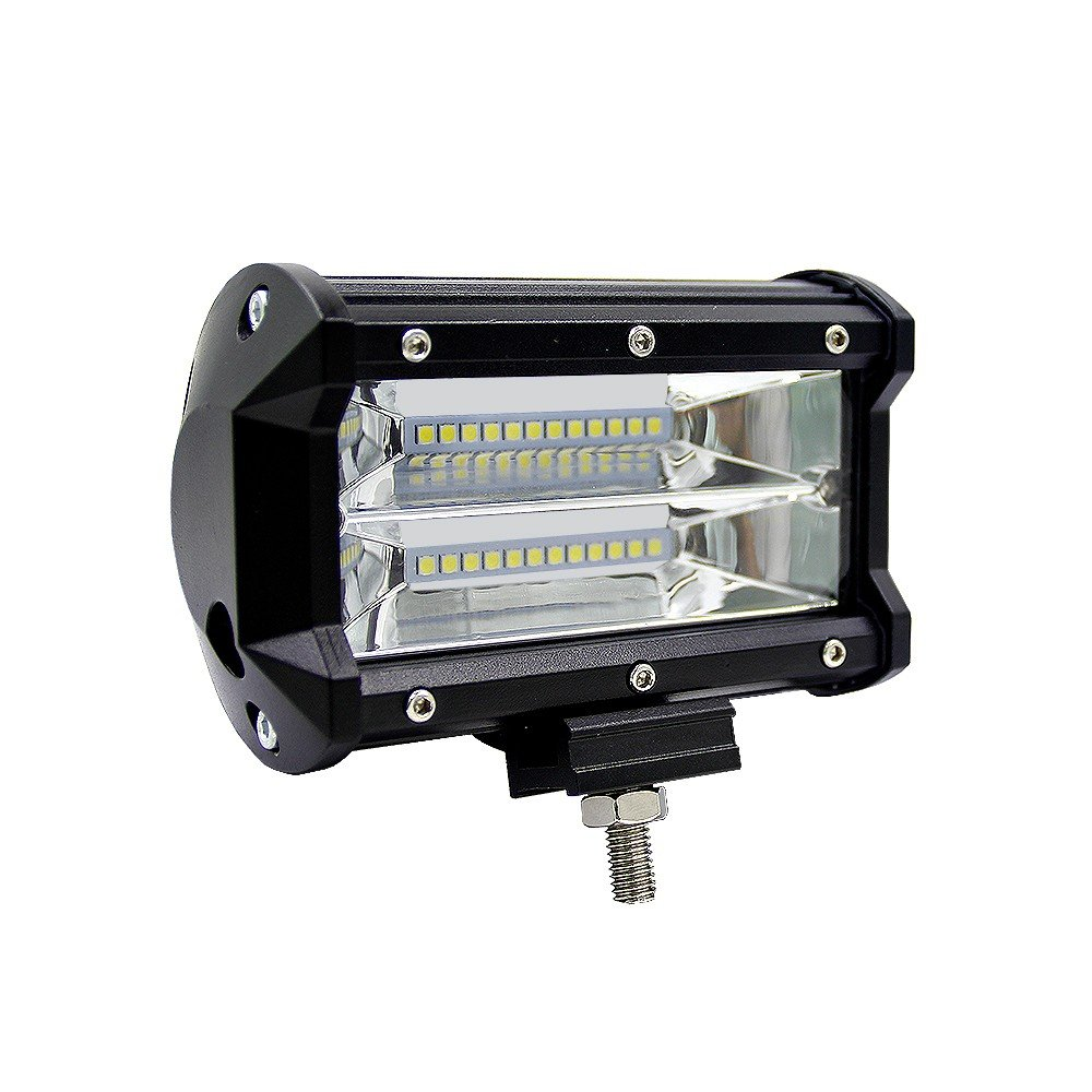 [해외]72W Spot LED Light Work Bar Lamp Driving Fog Offroad SUV 4WD Car Boat Truck Universal Motorcycle Off Road Auxiliary Spot Lamp/72W Spot LED Light W