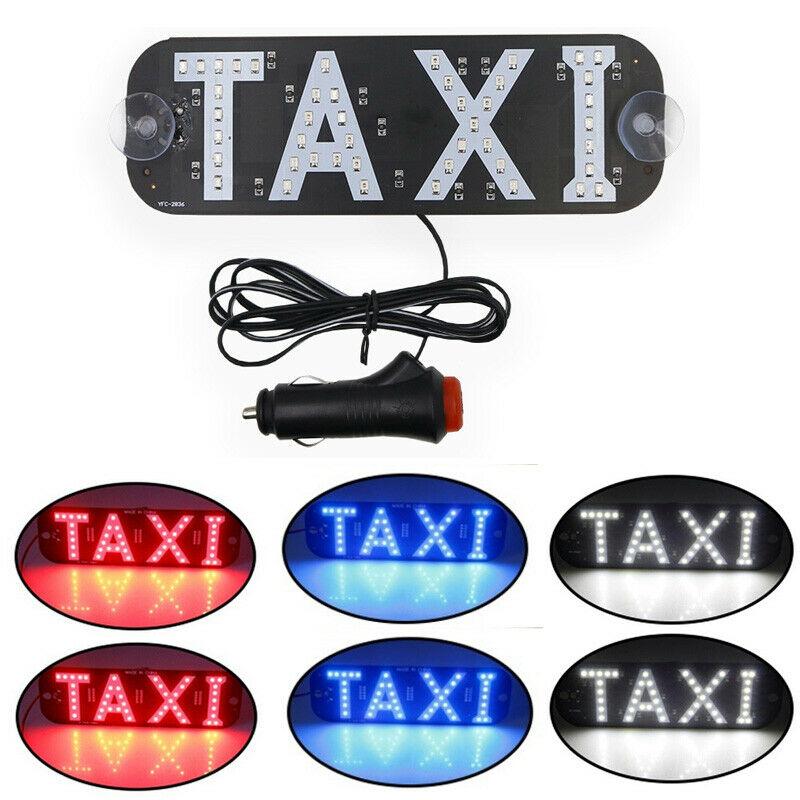 [해외]12V LED Car Taxi Cab indicator Lamp Windscreen Sign Windshield Light Lamp/12V LED Car Taxi Cab indicator Lamp Windscreen Sign Windshield Light Lam