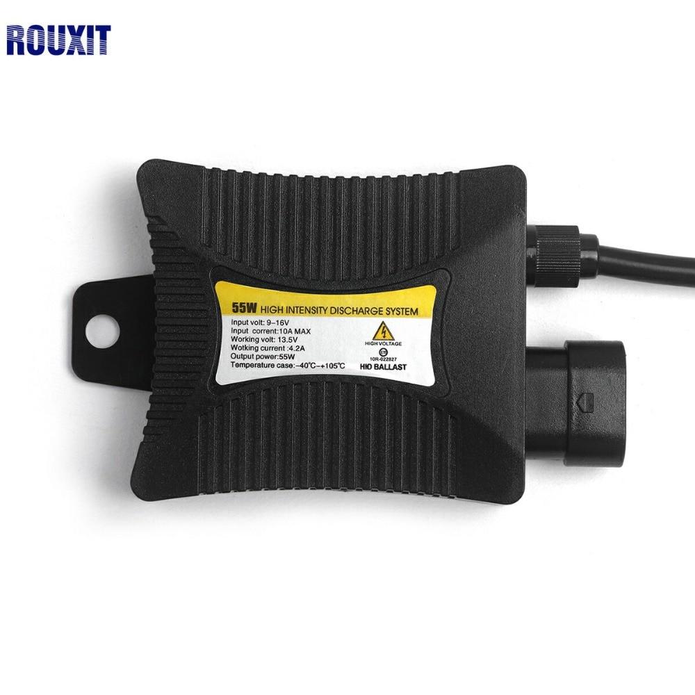 [해외]Slim HID 55W Xenon Replacement Xenon H7 Electronic Digital Conversion Ballast Kit Ignition Unit Block for H1 H3 H4 H11 9005 9006/Slim HID 55W Xeno