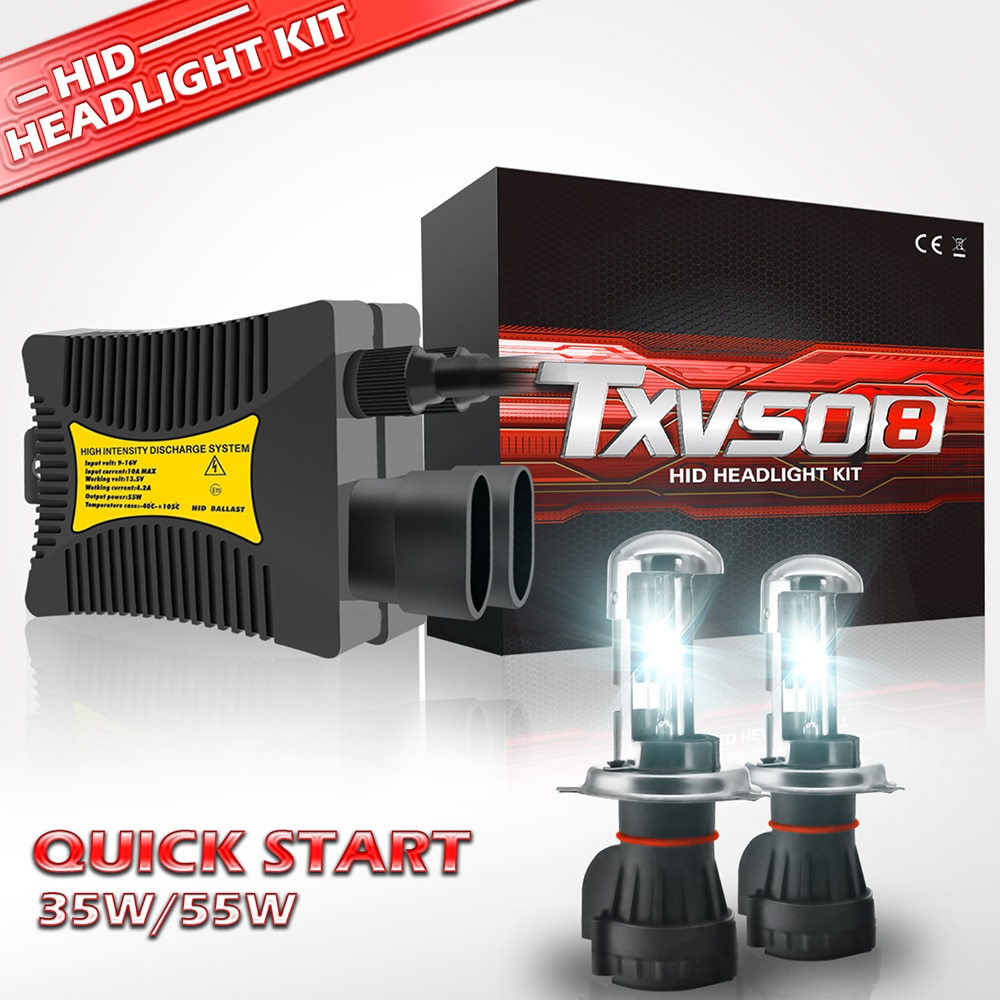 [해외]H7 Xenon Bulb H1 H3 H4 Xenon Headlight Ballast kit HID Light Lamp H11 55W Headlamps for Motorcycle 35W 9005 9006 9004 9007 H27/H7 Xenon Bulb H1 H3