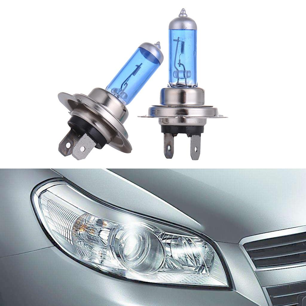 [해외]2Pcs H7 100W Halogen Light Bright White Car Headlight Bulbs Bulb Lamp 12V 6000K/2Pcs H7 100W Halogen Light Bright White Car Headlight Bulbs Bulb L