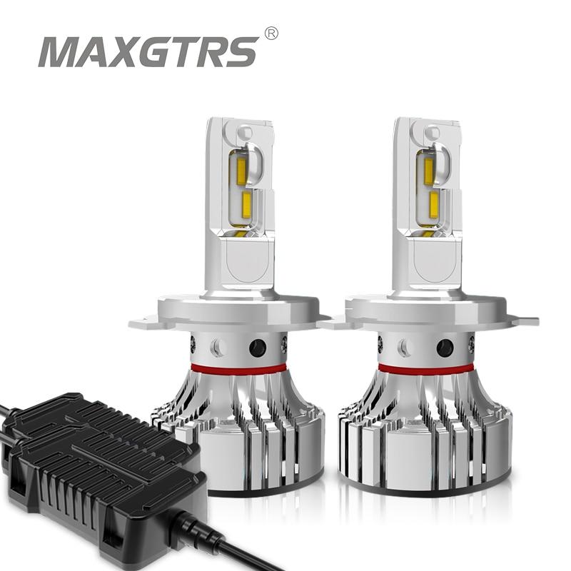 [해외]2x Car LED Headlight Bulbs H4 Hi/low H7 H11 H8 9005/HB3 9006/HB4 110w 12000Lm CSP LED Auto Headlamp Lighting 6000K White/2x Car LED Headlight Bulb