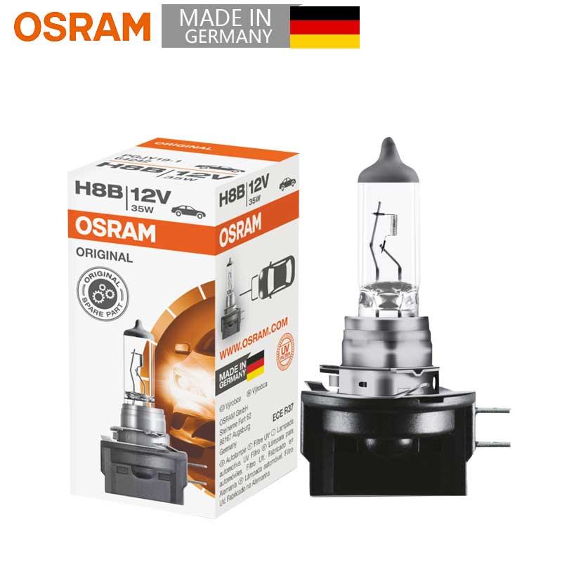[해외]OSRAM Original H8B 12V 35W 64242 PGJY19-1 3200K Standard Auto Fog Lamp Replacement Car Light Bulb OEM Quality Germany (Single)/OSRAM Original H8B
