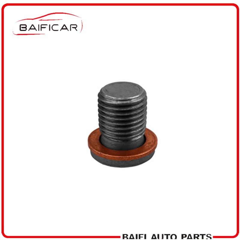Baificar 브랜드의 새로운 정품 오일 팬 드레인 나사 n910 868 01 폭스 바겐 sagitar 1.6 2.0 magotan 2.0 보라 1.6 2.0 골프 4 lavida touran