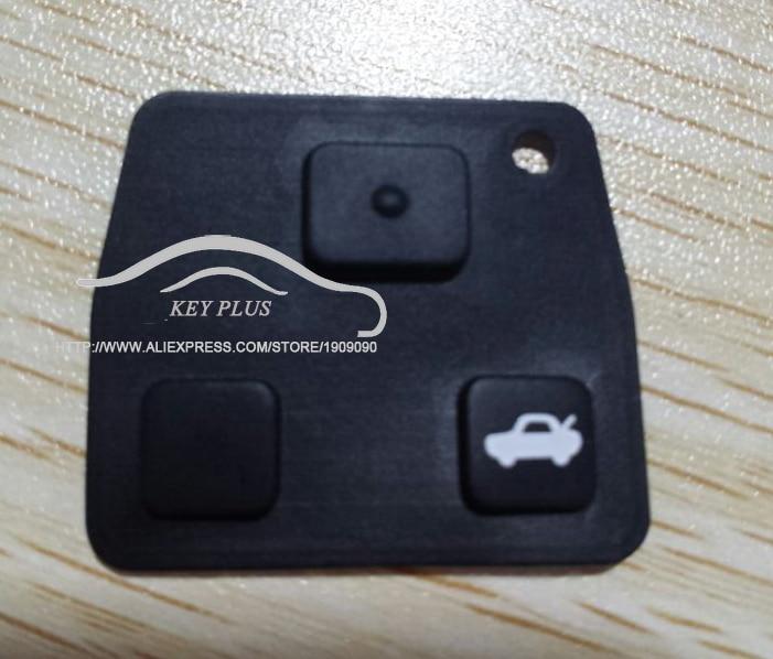 [해외]교체 원격 키 실리콘 고무 패드 2 3 버튼 자동차 키 도요타 Avensis Corolla Lexus RVA4/Replacement Remote Key Silicon Rubber Pads 2 3 Buttons Car Key For Toyota Avensis Co