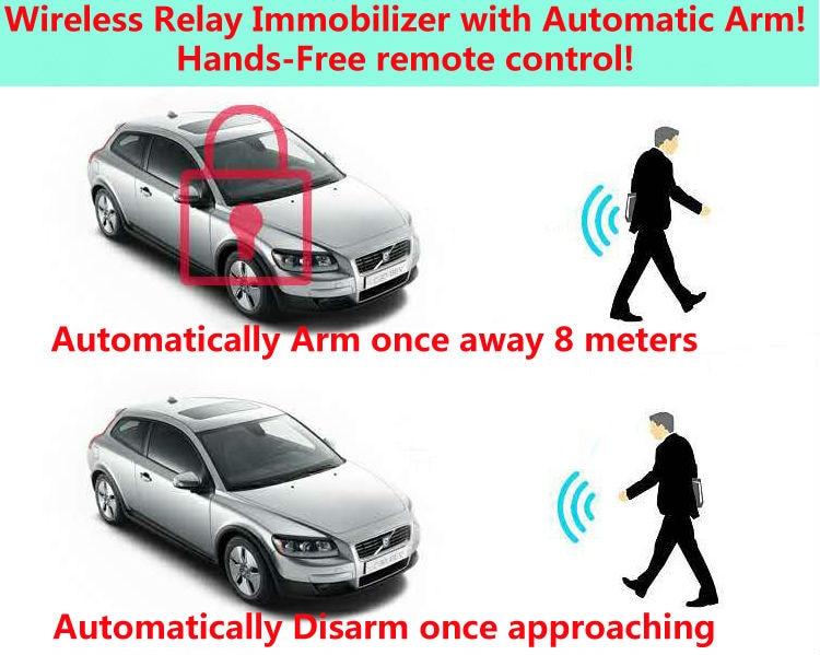 [해외]upgarde12V 도난 방지 자동차 연료 펌프 차단기 RFID 이모빌라이저 무선 릴레이 자동차 경보 핸즈프리 원격 제어/upgarde12V anti theft car fuel pump cut off RFID immobiliser Wireless Relay ca
