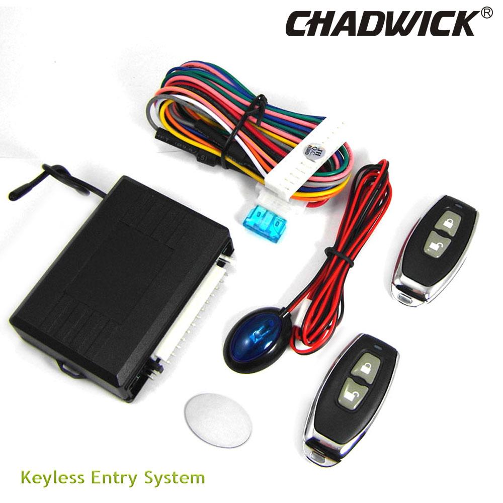 [해외]자동차 경보 시스템 용 유니버설 키리스 엔트리 자동 원격 센트럴 키트 도어록 차량 중앙 잠금 제어 CHADWICK 8110/Universal Keyless Entry for Car Alarm Systems Auto Remote Central Kit Door Lo