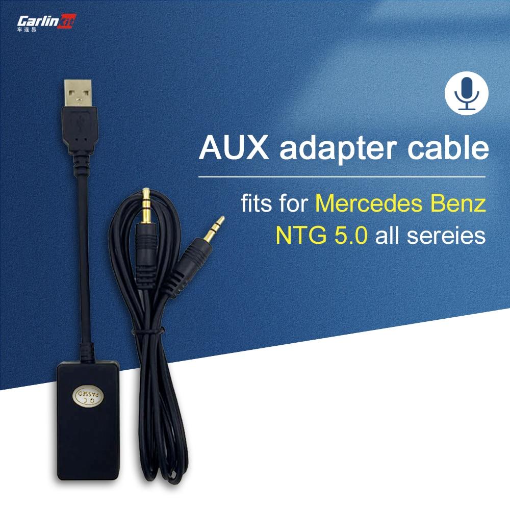 메르세데스 벤츠 A/B/C/E/GLC/GLA (7 화면) 용 3.5mm 오디오 입력 AUX-USB 오디오 출력/메르세데스 벤츠 A/B/C/E/GLC/GLA (7 화면) 용 3.5mm 오디오 입력 AUX-USB 오디오 출력
