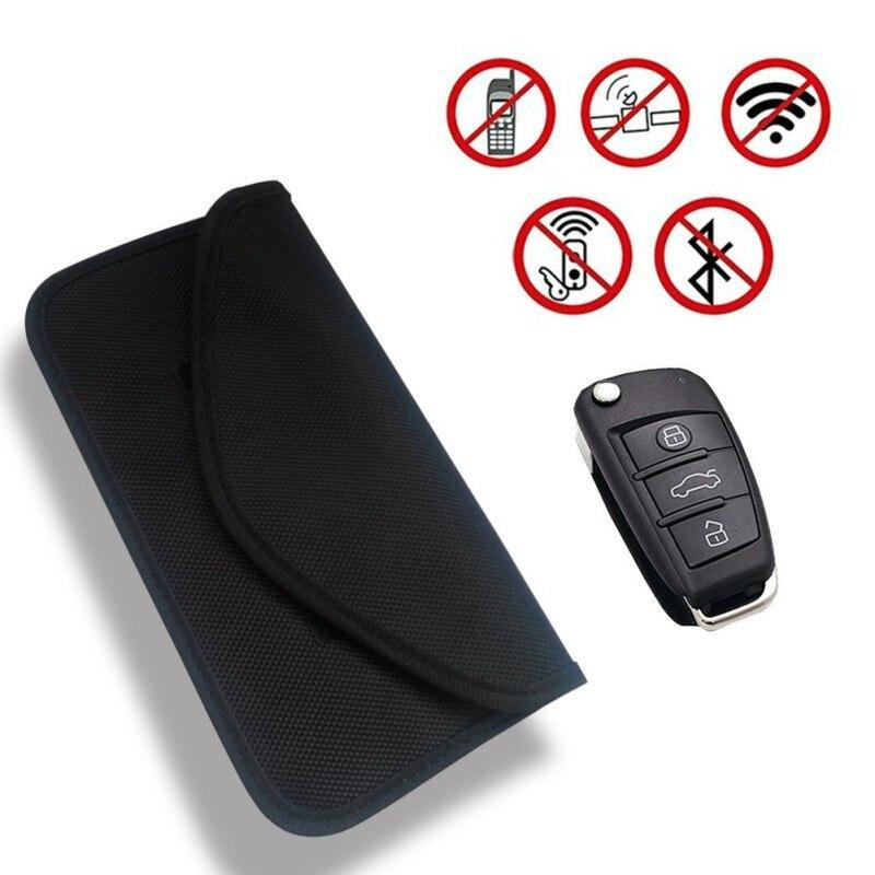 전자기 차폐 키 가방 자동차 키 케이스 차폐 차단 커버 다기능 원격 제어 키 가방
