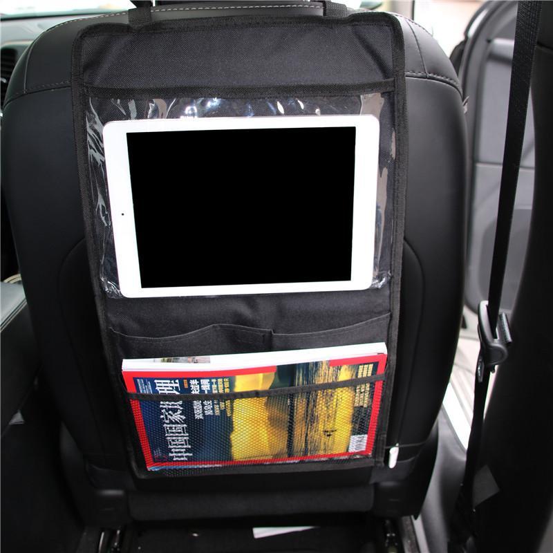 자동차 다시 좌석 주최자 자동차 멀티 포켓 스토리지 가방 pvc 문자열 가방 유형 좌석 가방 stowing tidying