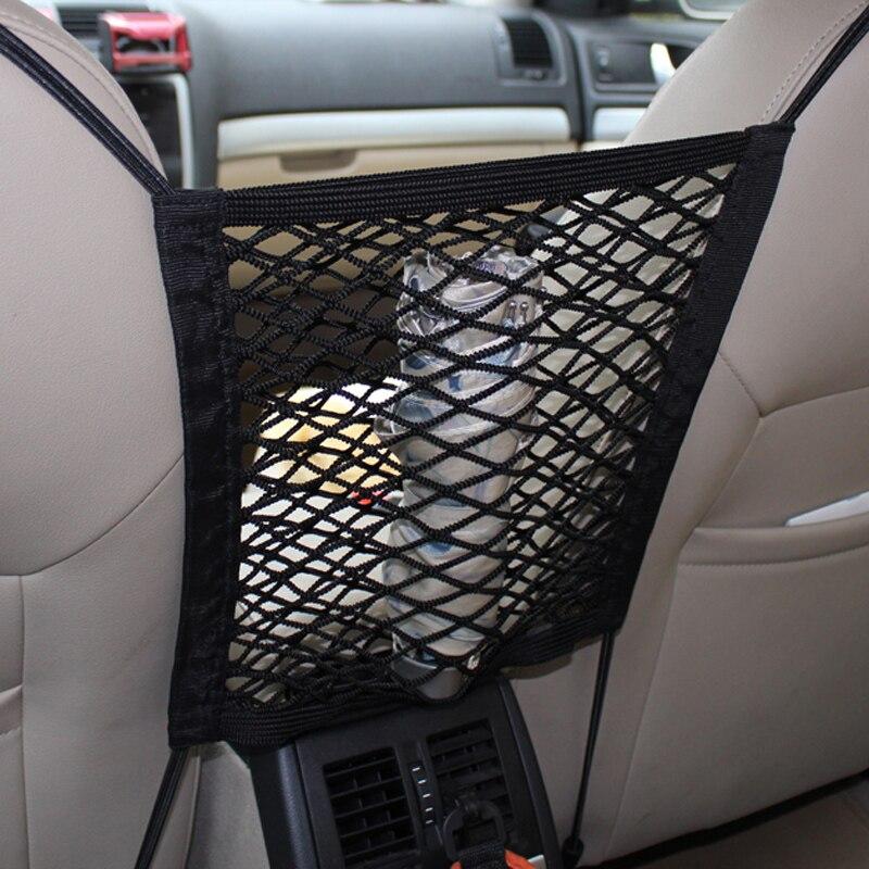 [해외]28x25cm universal car seat back storage mesh net bag for Opel Astra VAUXHALL MOKKA Zafira Insignia Vectra Antara/28x25cm universal car seat back s