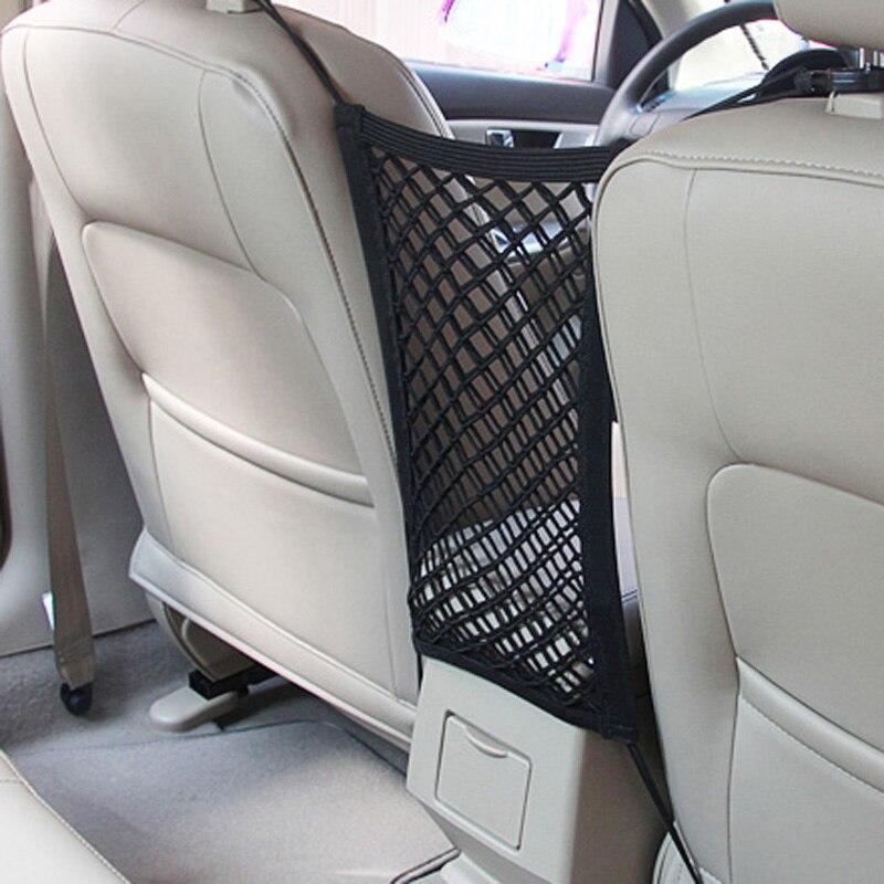 [해외]28x25cm universal car seat back storage mesh net bag for Kia Rio K2 K3 K5 K4 Cerato,Soul,Forte,Sportage R,SORENTO,Mohave,OPTIMA /28x25cm universal