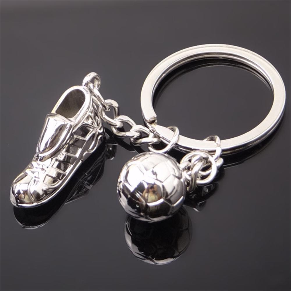 [해외]크리 에이 티브 3d 축구 신발 키 체인 스포츠 용품 월드컵 축구 키 링 기념품 지프 랭글러 Jk Vw 골프 4 피아트 푼 토/Creative 3d Soccer Shoes Key Chain Sporting Goods World Cup Football Key Ri