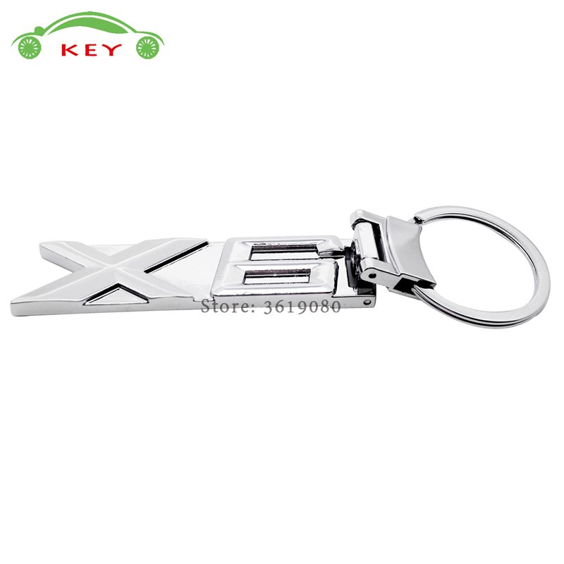 [해외]Car Styling Metal Keychain Creative Auto Keyring Holder for X6 Logo Key Chain Accessories for BMW X6 X1 X5 X3 E46 E60 F30 E39/Car Styling Metal Ke