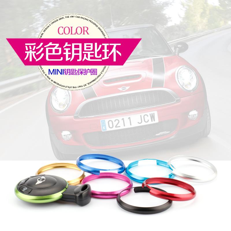[해외]Keying Key chain Aluminum Alloy Fob Ring Rim Trim Cover for Mini Cooper JCW R55 R56 R57 R58 R59 R60 R61 Countryman Car Styling/Keying Key chain Al