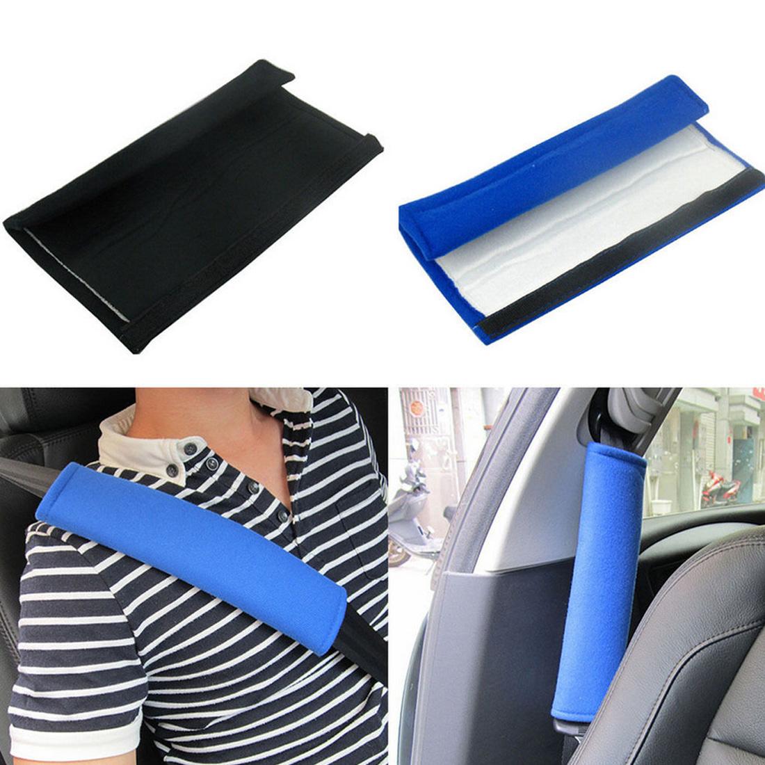 [해외]Dewtreetali 1 쌍 편안한 자동차 안전 좌석 벨트 어깨 패드 커버 쿠션 하네스 패드/Dewtreetali 1 Pair Comfortable Car Safety Seat Belt Shoulder Pads Cover Cushion Harness Pad