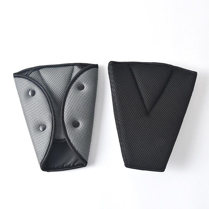 [해외]Car Seat Belt Seat Belt Cover Sturdy Adjustable Triangle Seat Belt Triangle Holder Pad Seat Belt Adjuster Child Protection/Car Seat Belt Seat Belt
