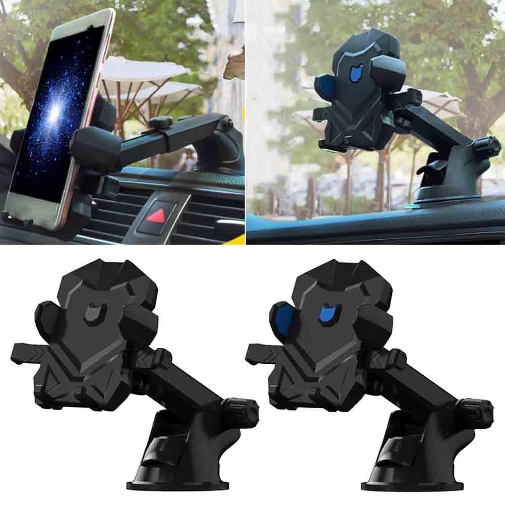 [해외]자동차 360도 로타리 흡입 컵 홀더 개폐식 자동 잠금 빨판 스탠드 GPS 네비게이션 휴대 전화/Car 360 Degree Rotary Suction Cup Holder Retractable Auto Lock Sucker Stand For GPS Navigati
