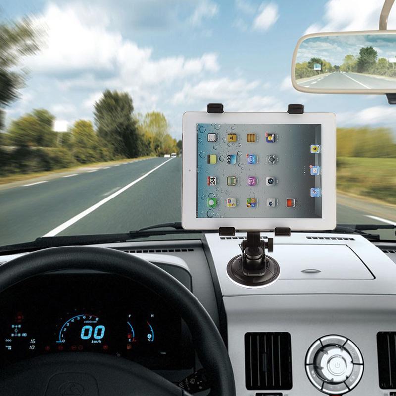 [해외]태블릿 자동차 앞 유리 360도 회전 브래킷 보편적 인 휴대 전화 흡입 마운트 홀더 7 11 인치 핸드폰 태블릿/Tablet Car Windshield 360 Degree Rotation bracket universal Cellphones Suction Moun