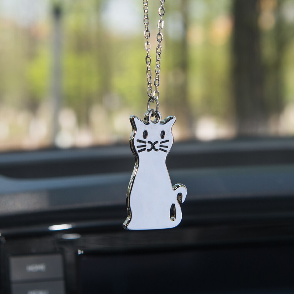 [해외]Car Pendant Kitty Cat Fashion Ornaments Charms Rearview Mirror Decoration Hanging Auto Decor Cars Accessories Styling Hot Gifts/Car Pendant Kitty