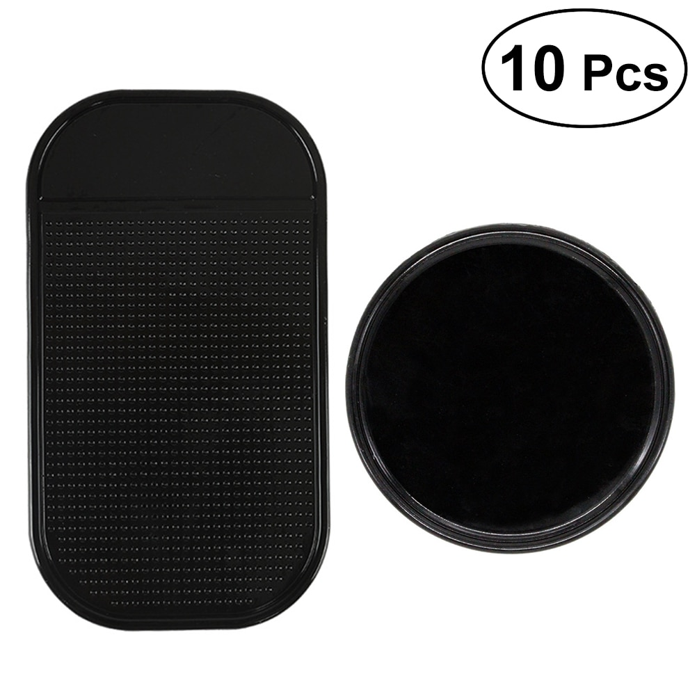 [해외]10pcs Anti-slip Non Slip Car Auto Grip Pad Anti Slide Heat Resistant Adhesive Gel Holder Phone Holder Mat/10pcs Anti-slip Non Slip Car Auto Grip P