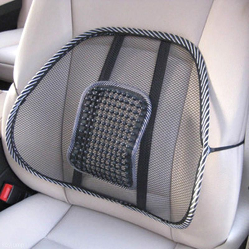[해외]39CMx41CM Universal Car Seat Chair Back Massage Lumbar Support Waist Cushion Mesh Ventilate Cushion Pad for Car Office Home/39CMx41CM Universal Ca