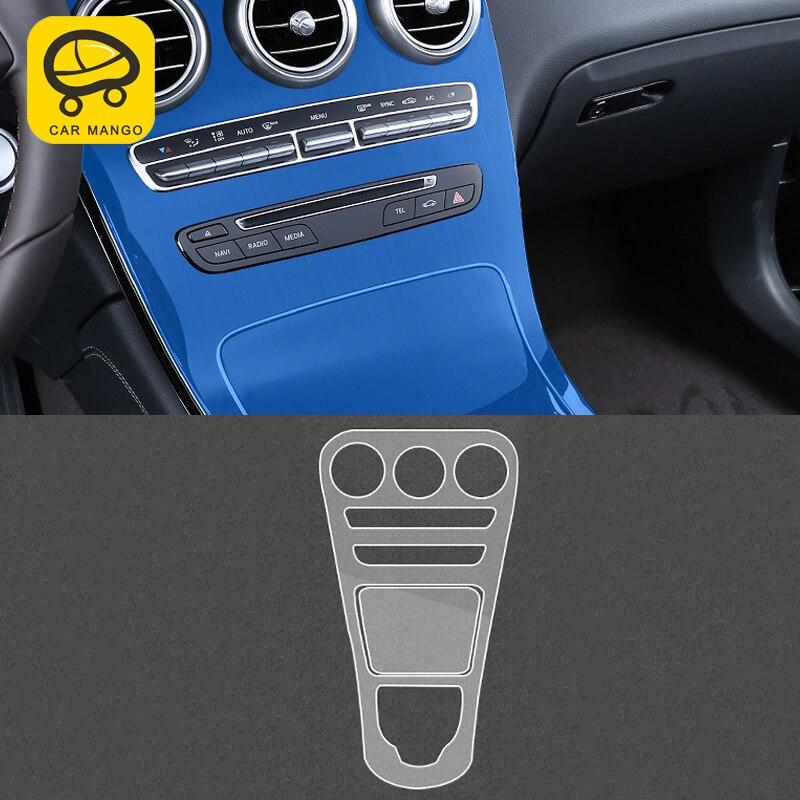 [해외]CarManGo For Mercedes-Benz 2018 GLC  Auto Central control screen tempered film/CarManGo For Mercedes-Benz 2018 GLC  Auto Central control screen te