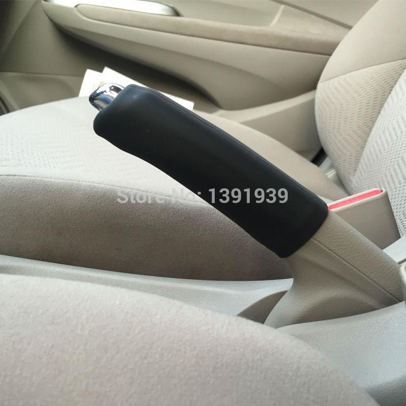 [해외]Silicone handbrake cover car accessories for Nissan X-trail Rogue Note NV200 Micra GT-R Almera 307Z Sunny Altima Quest Cube/Silicone handbrake cov