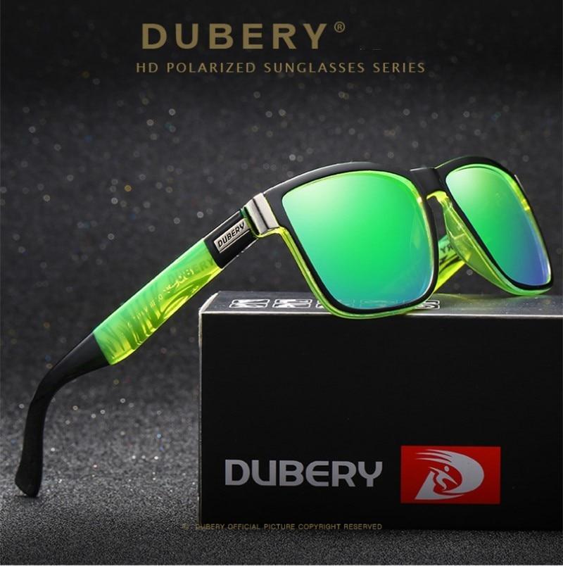 DUBERY 편광 선글라스 남성용 썬글라스 남성용 선글라스 남성용 레트로 저렴한 럭셔리 브랜드 디자이너 Oculos