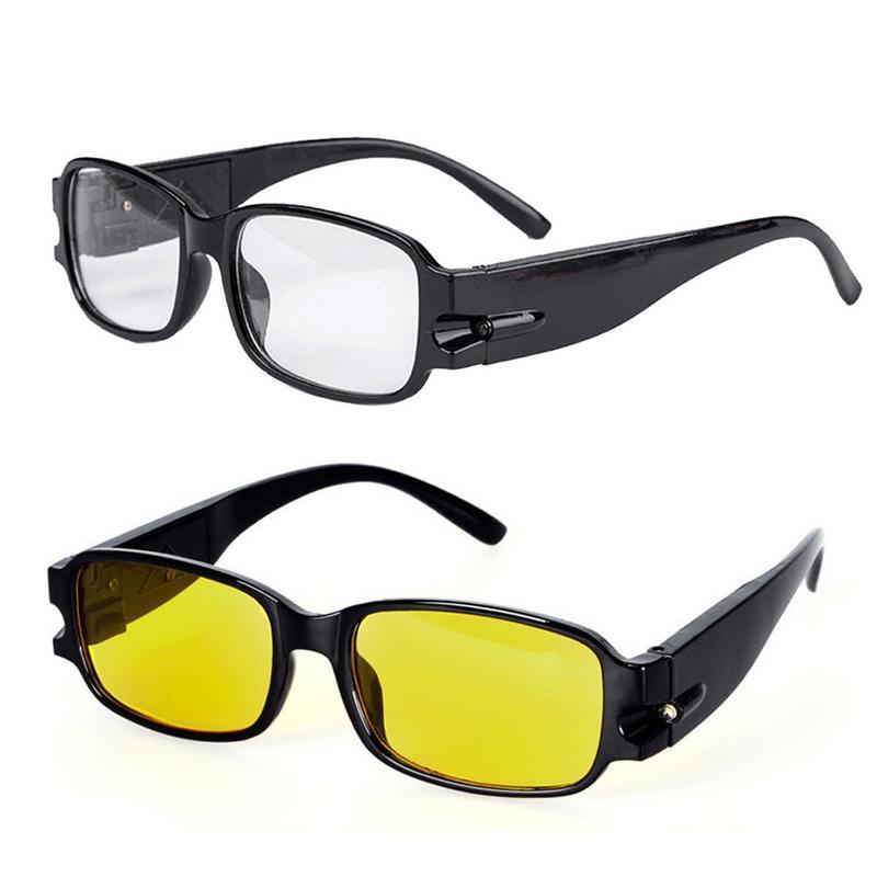 범용 자동차 수리 안경 다기능 조명 조명 안경 자기 치료 안티 피로 LED 안경