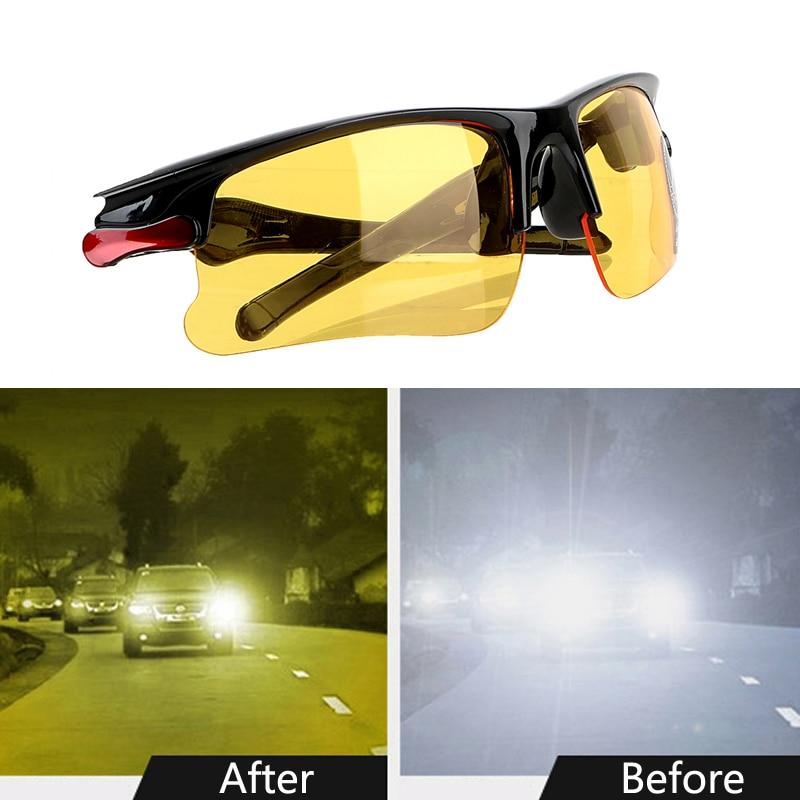 안티 uv 편광판 자동차 운전자 야간 투시경 고글 편광 된 운전 안경 선글라스 자동차 액세서리