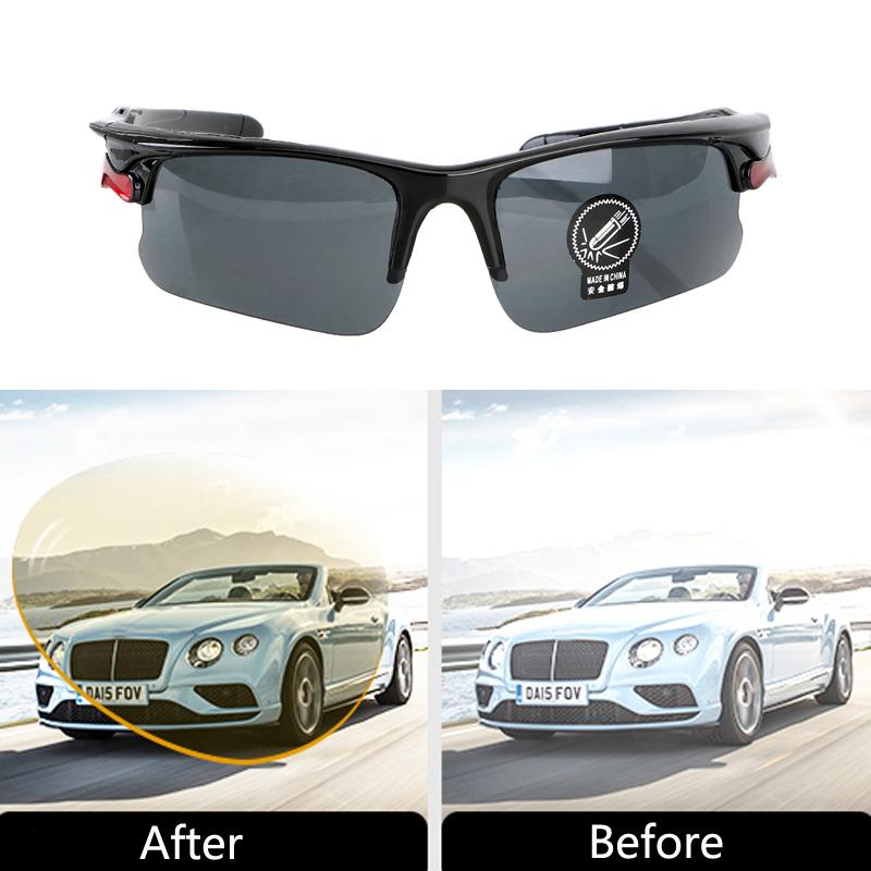 [해외]Car Night Vision Glasses Driving UV Protection Sunglasses For Nissan TIIDA X-TRAIL TEANA Skoda Octavia Honda CRV KIA RIO Lada/Car Night Vision Gla