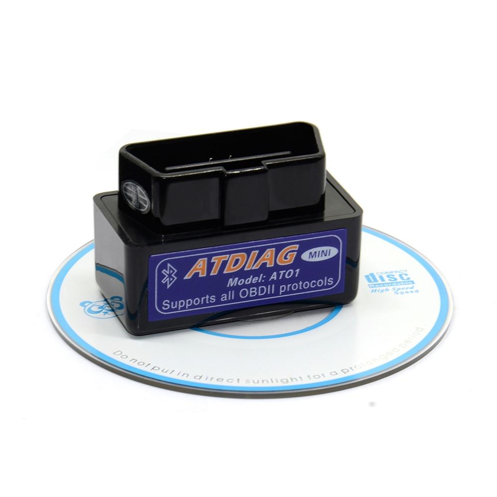 [해외]2017 super mini elm 327 bluetooth V2.1 elm327 obd ii code reader Car Diagnostic-Tool Scanner Elm-327 OBDII Adapter/2017 super mini elm 327 bluetoo
