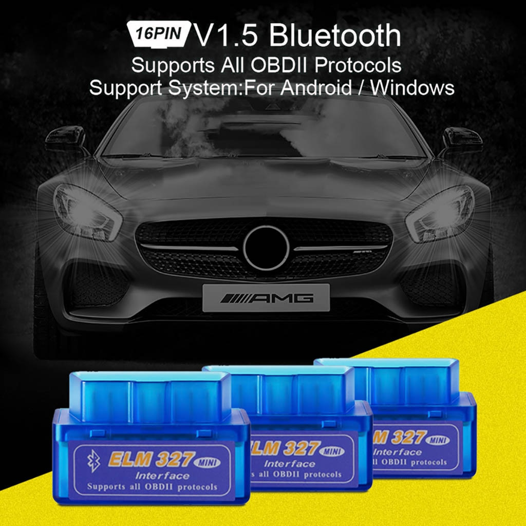 [해외]B02 V1.5 Bluetooth2.0 ELM327 obd2 car fault detector PICI8F25K80 chip 16PIN OBDII scanner diagnostic tools/B02 V1.5 Bluetooth2.0 ELM327 obd2 car f