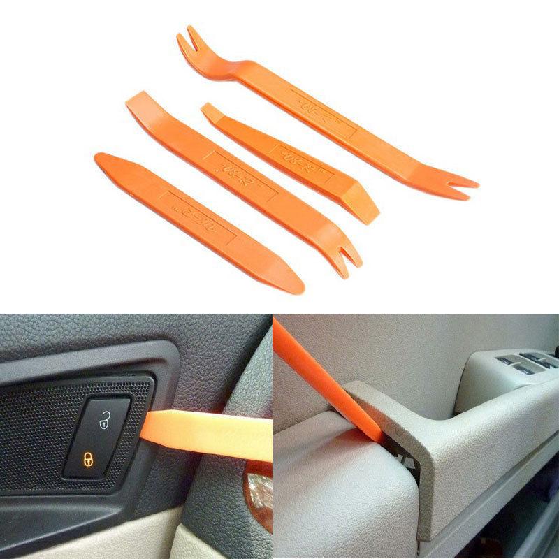 [해외] 4pcs New Portable Practical Automotive Panel Plastic Trim Removal Tool Set Kit/ 4pcs New Portable Practical Automotive Panel Plastic Trim Removal