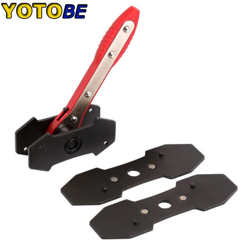 [해외]Ratcheting Brake Pad Caliper Piston Spreader Press Tool w/2 Steel Install Plates/Ratcheting Brake Pad Caliper Piston Spreader Press Tool w/2 Steel