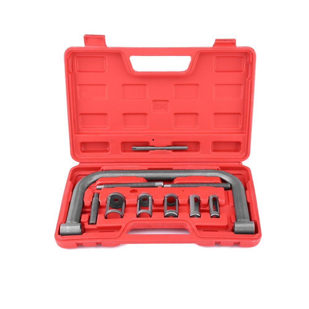 [해외]10 Pcs Valve Spring Compressor Kit Removal Installer Tool Solid steel Universal For Car Van Motorcycle Engines/10 Pcs Valve Spring Compressor Kit