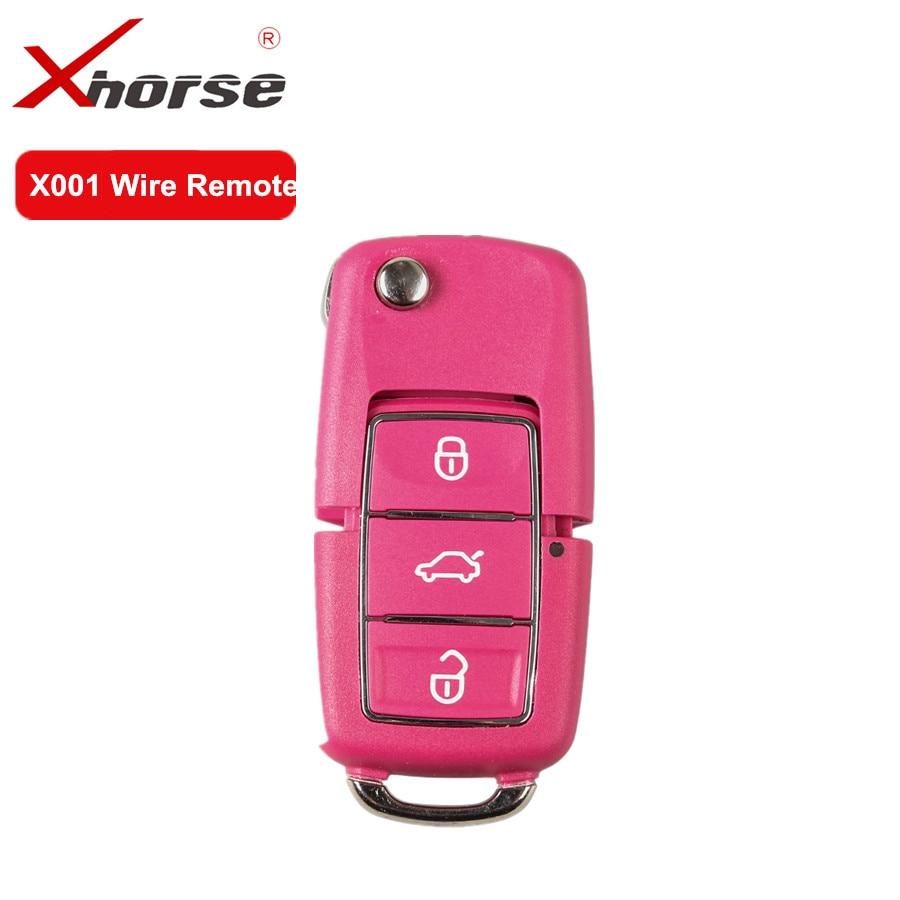 [해외]V-W b5 스타일 3 버튼에 대 한 xhorse x001 와이어 원격 키 vvdi2 및 vvdi 키 도구에 대 한 붉은 색 작업/V-W b5 스타일 3 버튼에 대 한 xhorse x001 와이어 원격 키 vvdi2 및 vvdi 키 도구에 대